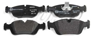 Disc Brake Pad Set - Front 34116761244 Main Image