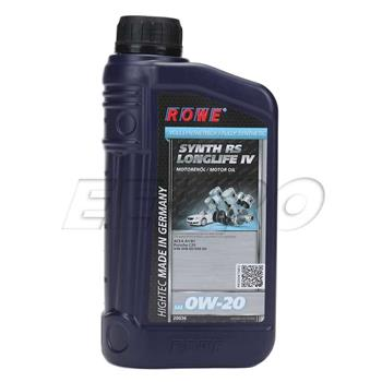 Engine Oil (HIGHTEC SYNTH RS LONGLIFE IV) (0W20) (1 Liter) 20036001003 Main Image