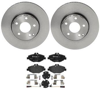 Disc Brake Pad and Rotor Kit - Front (295mm) (Low-Met) 1552873KIT Main Image