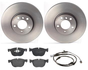Disc Brake Pad and Rotor Kit - Front (332mm) (Low-Met) 1521107KIT Main Image