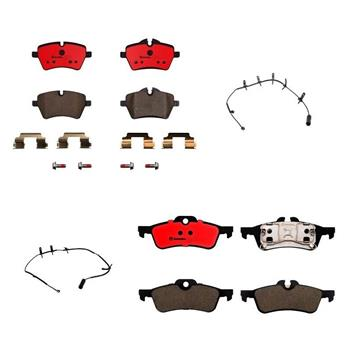Brake Pad Set Kit - Front and Rear (Ceramic) 1552923KIT Main Image