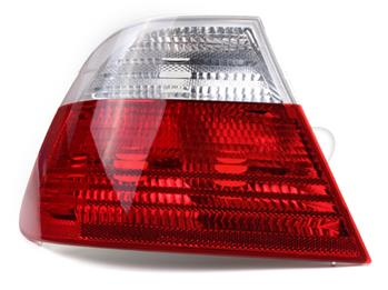 Tail Light Assembly - Driver Side Outer (Clear) 63218383825 Main Image