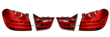 Tail Light Kit - Driver and Passenger Side Inner and Outer (LED) 2858339KIT Main Image