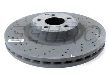 Disc Brake Rotor - Front (350mm) (Cross-Drilled) 221421161207 Main Image