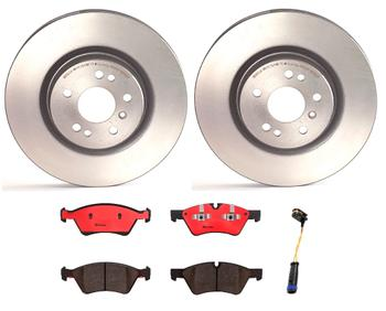 Disc Brake Pad and Rotor Kit - Front (330mm) (Ceramic) 1533295KIT Main Image