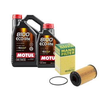Engine Oil Change Kit (5W30) (6 Liter) (ECO-LITE 8100) 3749680KIT Main Image