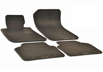 Floor Mat Set - Front and Rear (All-Weather) (Black) 214522FL Main Image