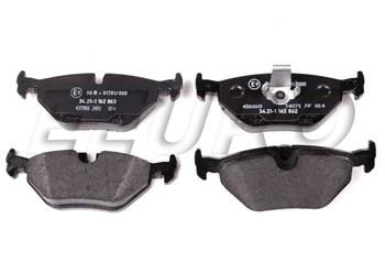 Disc Brake Pad Set - Rear 34216761281 Main Image