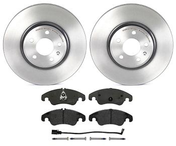 Disc Brake Pad and Rotor Kit - Front (320mm) (Low-Met) 1520810KIT Main Image