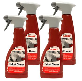 Fallout Cleaner Contaminant Removal (4 x 500ml Spray Bottles) 4132236KIT Main Image