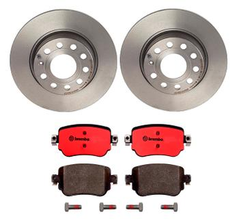 Disc Brake Pad and Rotor Kit - Rear (272mm) (Ceramic) 3269316KIT Main Image