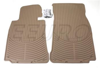 Floor Mat Set - Front (All-Weather) (Beige) 82550151508 Main Image