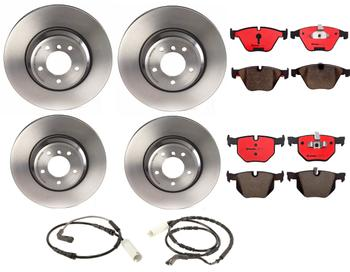 Disc Brake Pad and Rotor Kit - Front and Rear (348mm/336mm) (Ceramic) 1591625KIT Main Image
