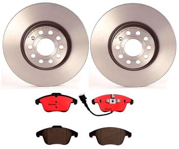 Disc Brake Pad and Rotor Kit - Front (312mm) (Ceramic) 1514409KIT Main Image