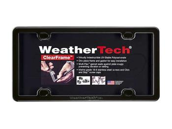 License Plate Frame Kit (ClearFrame) (Black) 63020 Main Image