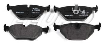 Disc Brake Pad Set - Rear 34216778168G Main Image