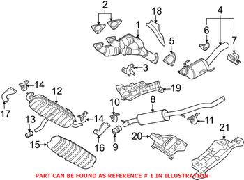 Catalytic Converter 7L0254300DX Main Image