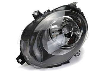 Headlight Assembly - Passenger Side (Halogen) (w/ Clear Turnsignal) 45359 Main Image