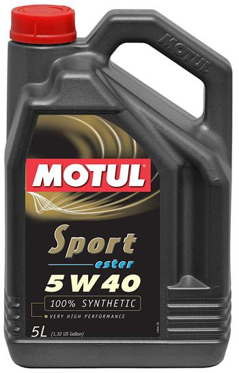Engine Oil (5w40) (5 Liter) (Sport) 105700 Main Image