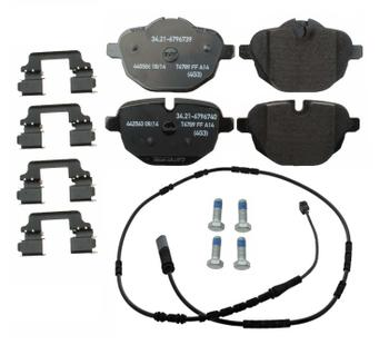 Disc Brake Pad Set - Rear (w/ Sensor) 2892371KIT Main Image