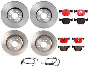 Disc Brake Pad and Rotor Kit - Front and Rear (332mm/324mm) (Ceramic) 2862343KIT Main Image
