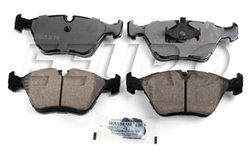 Disc Brake Pad Set - Front EUR394 Main Image