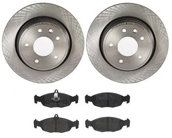 Disc Brake Pad and Rotor Kit - Rear (305mm) (Low-Met) 3236839KIT Main Image