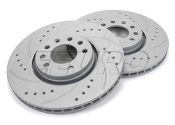 2006 2007 2008 2009 for Saab 9-5  Disc Brake Rotors and Pads 308mm Rotor Front
