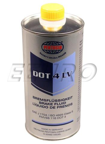 Brake Fluid (DOT 4) (1 Liter) (Low Viscosity) 1224116 Main Image