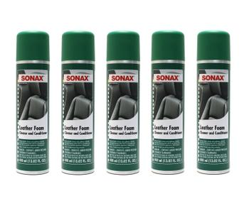 Leather Foam Premium Cleaner and Conditioner (5 x 13oz Aerosol Cans) 4132205KIT Main Image