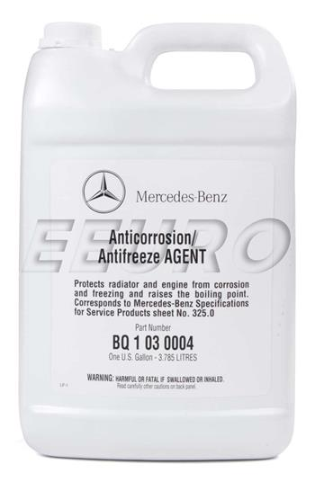 Engine Coolant Antifreeze (1 Gallon) Q1030004 Main Image