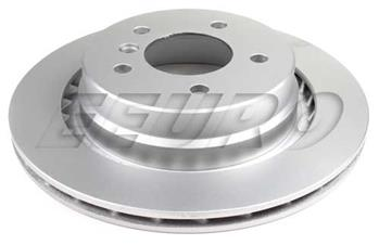 Disc Brake Rotor - Rear Passenger Side (312mm) 15010085 Main Image