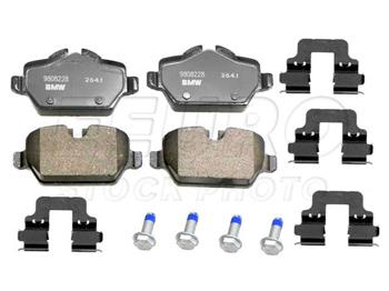 Disc Brake Pad Set - Rear EUR1554 Main Image