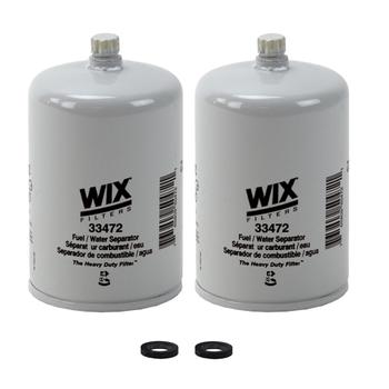 Fuel Water Separator Filter (Spin-On) (Heavy Duty) (2 Pieces) 4156501KIT Main Image