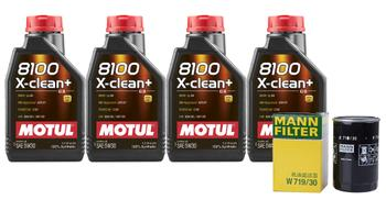 Engine Oil Change Kit (5W-30) (4 Liter) (X-CLEAN+ 8100) 3090841KIT Main Image