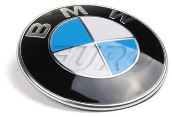 Original 51148132375 BMW Boot//Bonnet Badge 82mm Blue//White E46 325ci Models