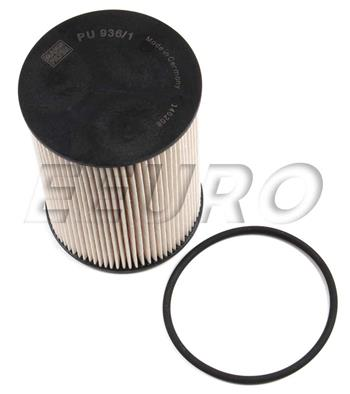 Volkswagen Fuel Filter - MANN-FILTER PU9361X - Fast Shipping AvailableeEuroparts.com