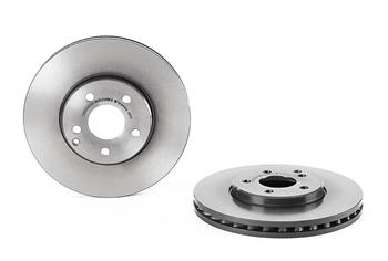 OE Genuine 2114211212 Mercedes-Benz Front Brake Disc Rotor Set Of 2