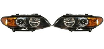 Headlight Set - Driver and Passenger Side (Bi-Xenon) (Amber Turn Signals) 2863333KIT Main Image