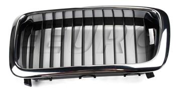 Kidney Grille - Front Driver Side (Black) 51138125811 Main Image