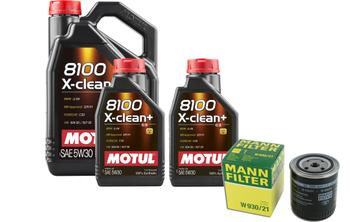 Engine Oil Change Kit (5W-30) (7 Liter) (X-CLEAN+ 8100) 3091924KIT Main Image