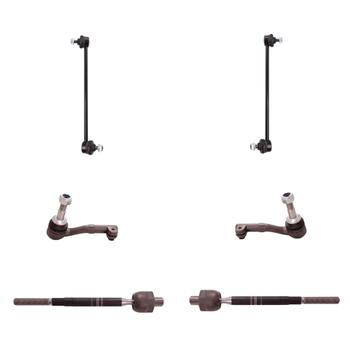 Steering Tie Rod End Kit - Front Inner and Outer (Driver and Passenger Side) (with Sway Bar Links) 3321716KIT Main Image