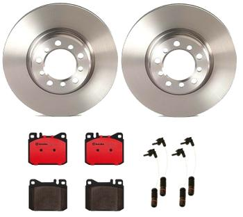 Disc Brake Pad and Rotor Kit - Front (300mm) (Ceramic) 1549215KIT Main Image