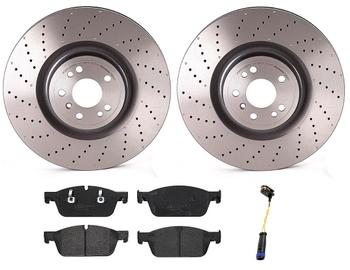 Disc Brake Pad and Rotor Kit - Front (375mm) (Low-Met) 1518705KIT Main Image