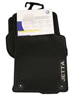 Floor Mat Set (All-Weather) (Jetta) (Black) 1KM061550HA041