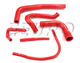 Engine Coolant Hose Kit (Silicone) (Red) DO88KIT16R