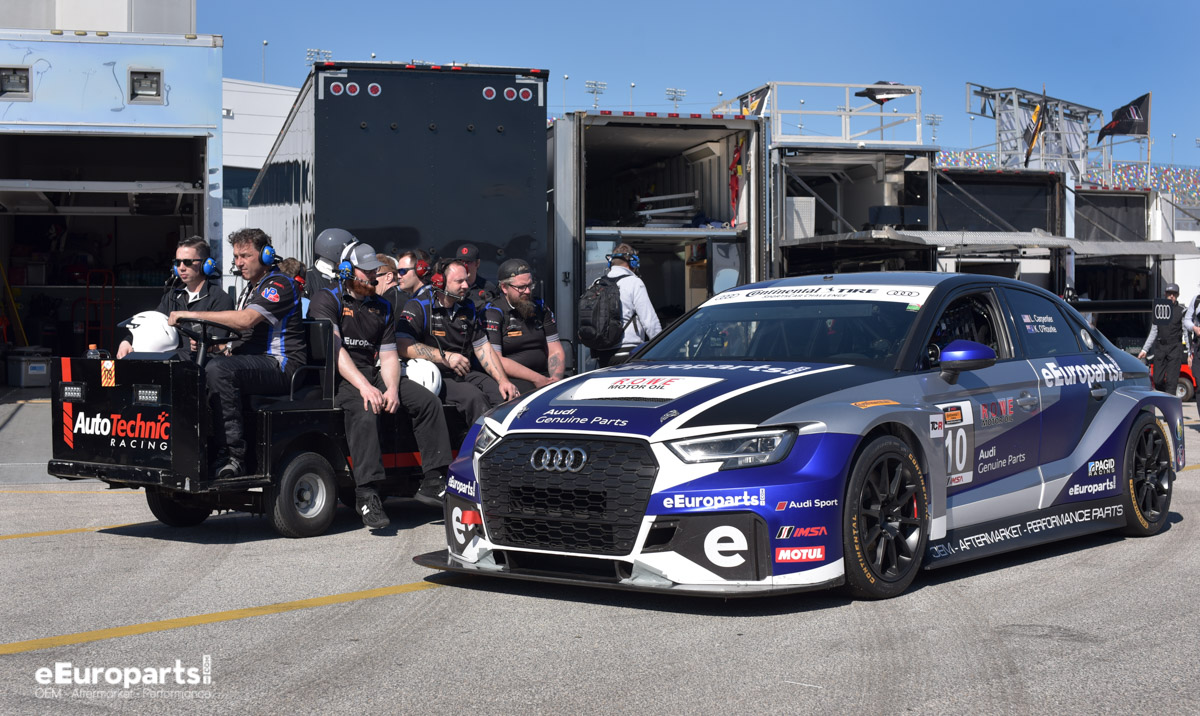 eEuroparts.com ROWE Racing Team TCR Audi RS 3 LMS