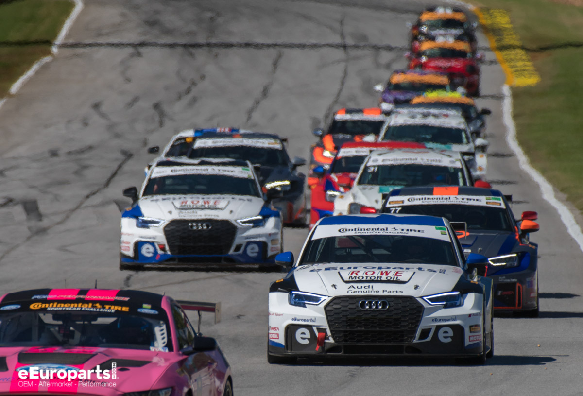 IMSA Road Atlanta Continental Tire Sports Car Challenge Race Start 2018 Audi RS 3 LMS TCR