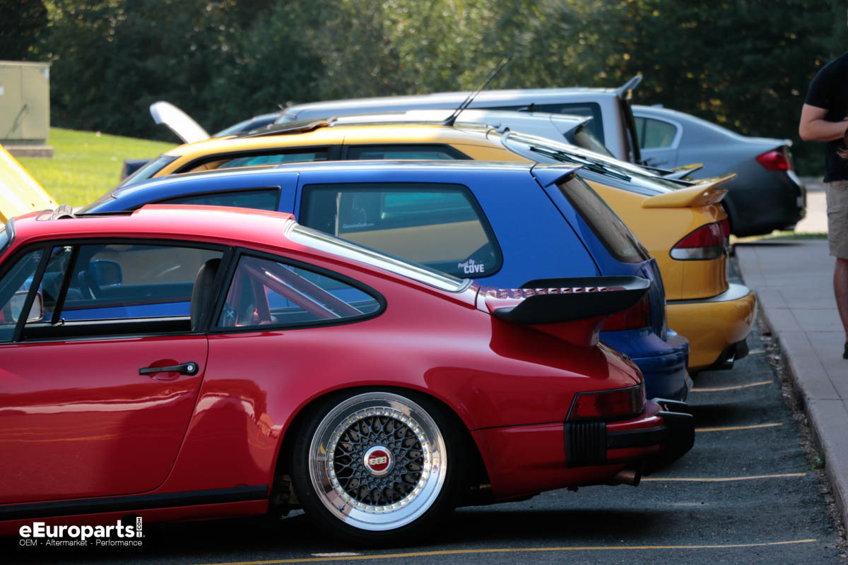 Different car spoilers porsche vw saab ford scion