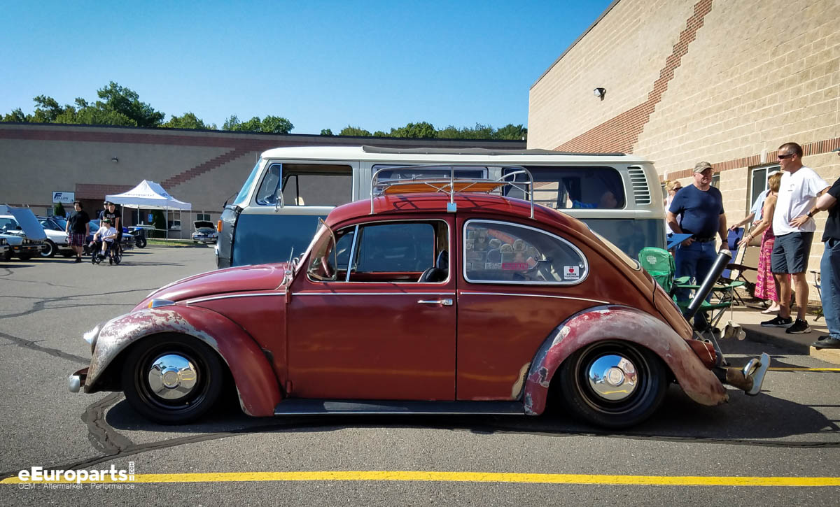 VW Bus and Bug Together